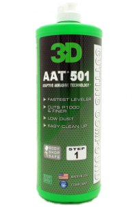 3D 501 AAT Rubbing Compound, 32 oz. | Free Shipping - Autoality