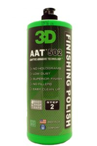 3D 502 AAT Finishing Polish, 32 oz.