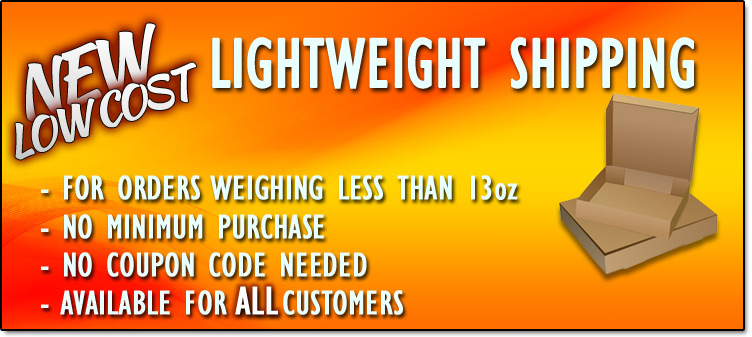 New Low Cost, Lightweight Shipping