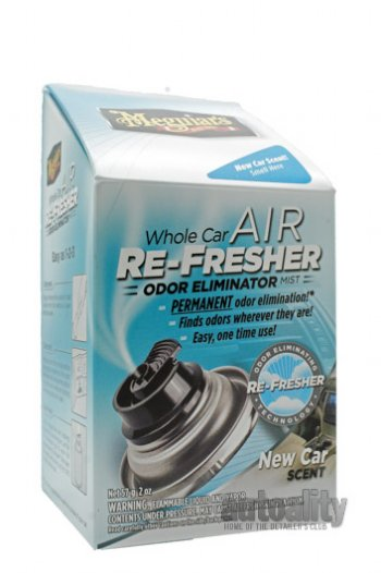 Car Odor Eliminator >> Meguiar S G164 Air Re Fresher Odor Eliminator New Car